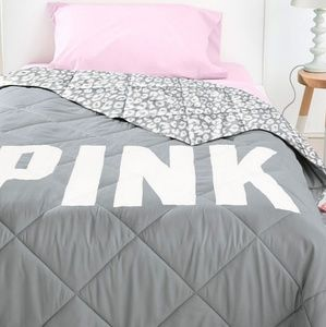 Victoria's secret PINK leopard bedding